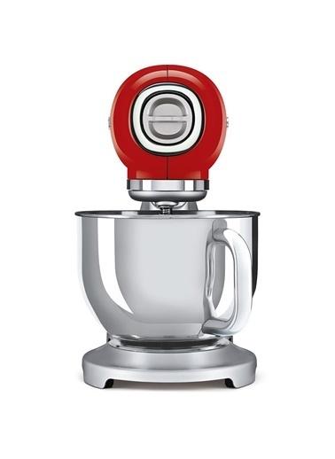 Smeg SMF02RDEU Retro Kırmızı 800 Watt 4.8 Litre Mutfak Şefi Hamur Mikseri Kırmızı